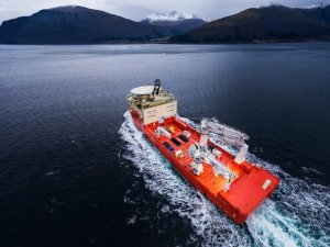 Ulstein Delivers Its Largest Offshore Construction Vessel