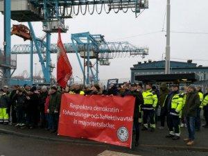 New Strike Halts Ops at APM Terminals Gothenburg