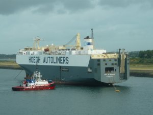 Höegh Autoliners Sells One More PCTC for Demolition