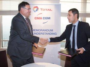 CMA CGM, Total Partner Up on Lower Emission Marine Fuel