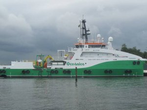 Dive Support Vessel Delivered in Brazil