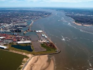 Storm Doris Closes Port of Liverpool