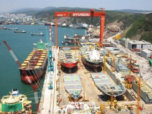 Labor unions of Hyundai Heavy Industries declared 3-day strike