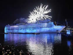 Istanbul hosts MSC Magnifica