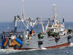 Fishing vessel Carolina 33 caught fire in Okhotsk sea