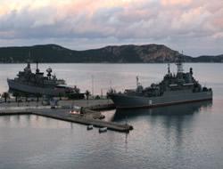 Russia in Blackseafor naval drills