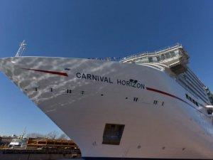 Fincantieri Launches Carnival Cruise Line's New Ship