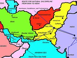 India-Iran gas pipeline
