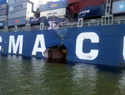 CMA CGM is only the charterer