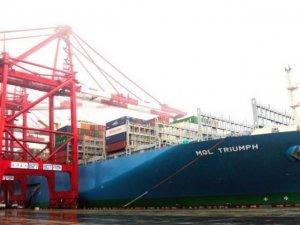 MOL's 20,000 TEU Behemoth Starts Plying the Oceans