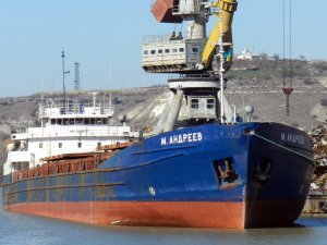General cargo vessel M. Andreev collided with two freighters at Azov Anchorage