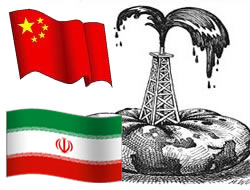 China offered oil over Iran deal