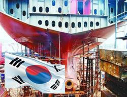 Korea rules shipbuilding in Q1