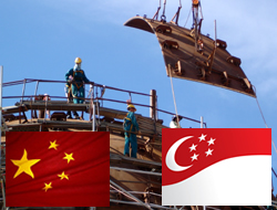 China to cooperate with Singapore