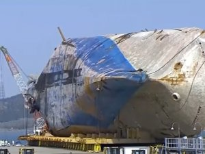 Report: Remains Found on Seabed Belong to Sewol Victim