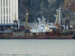 Fishing trawler Kapitan Chernov caught fire in Sea of Okhotsk