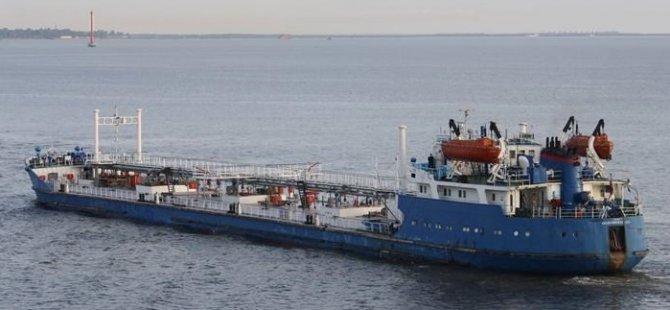 Tanker Volgoneft 217 with 4,382 tons of fuel ran aground in Russia