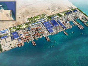 Saudi Aramco and Bahri head joint-venture with Lamprell and Hyundai Heavy Industries for building largest shipyard in the Middle East