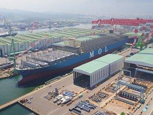 Imabari Launches 20,150 TEU MOL Boxship