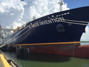 Evergas' Eighth Dragon Ship Named in Houston