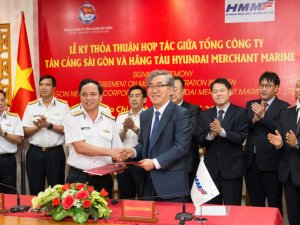 HMM, SNP Partner Up on Vietnam Port Development