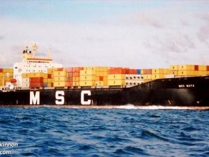 MSC Containership Drags Anchor, Causing Internet Blackout in Somalia -Reports