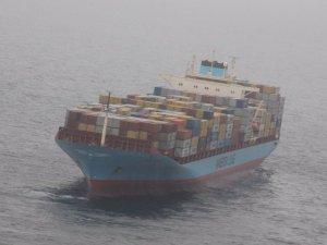 Maersk Boxship Narrowly Avoids Grounding Off Akutan