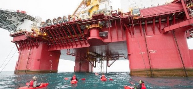 Norway Arrests Greenpeace Ship and 35 Activists During Protest at Arctic Oil Well