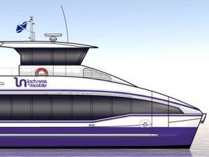 Wight Shipyard to build Loch Ness passenger catamaran