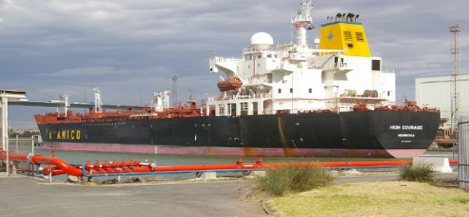 Man Injured in Fall on Tanker