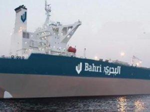 Public Transport Authority raises the Saudi flag on Bahri's VLCC Rimthan
