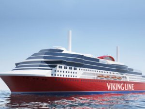 LNG fueled Viking Line newbuild to have Azipod propulsion