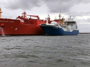 Skangas Delivers Milestone Fuel Change
