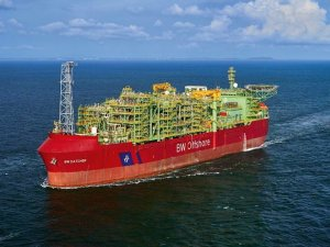 FPSO Moored at Catcher Field