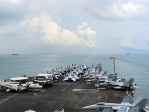 Three U.S. Aircraft Carriers to Stage Drill as Trump Visits Asia