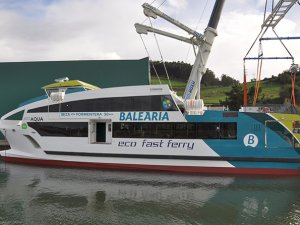 Gondan launches first of four eco fast ferries for Baleària