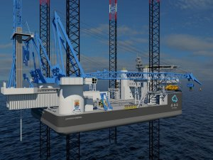 New Jack-Up Designed for Oil, Gas and Wind