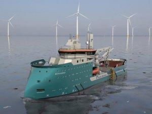 Walk-to-Work Vessel Acta Auriga Nearing Completion at Ulstein Verft