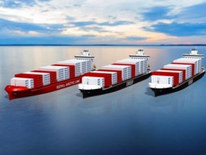 Three box ships will have Langh scrubbers, EGR water treatment