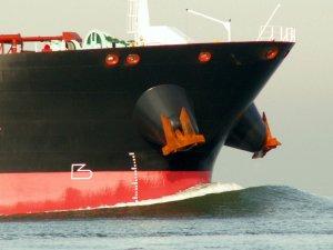 Reducing Bow Waves on Ships Sailing Through Waterways
