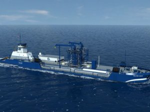 Wärtsilä to Equip First LNG Bunkering Barge in United States