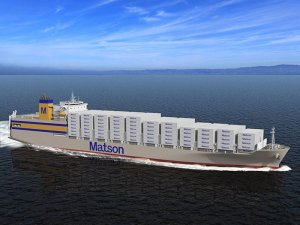 NASSCO starts construction of first of Matson ConRo duo