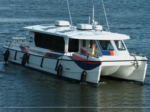 CMB unveils liquid hydrogen fueled catamaran