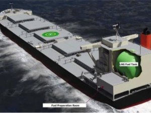 MOL, Tohoku Electric Power & Namura Receive AIP for LNG-powered Coal Carrier