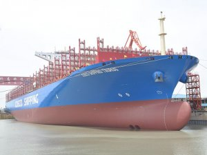 Shell Marine books major COSCO Shipping marine lubricants order