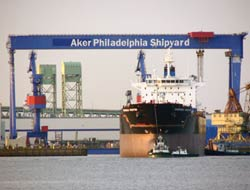 Aker delivers 2nd products tanker