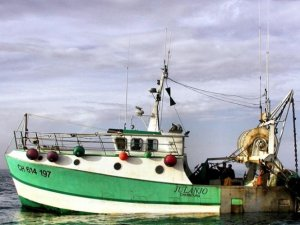 Injured Fisherman Stuck in Hold After Fall on Board