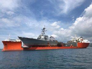USS John S. McCain Arrives Pier Side in Yokosuka, Japan