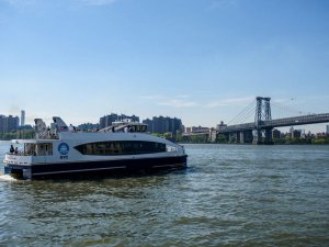 Coast Guard, Partner Agencies Respond to NYC Ferry Grounding