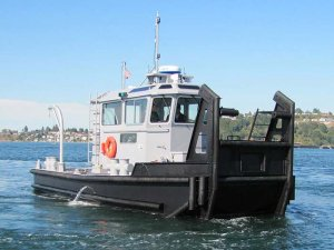 Modutech Marine delivers first of 24 Cummins powered tugs to Navy